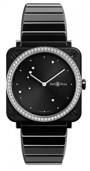 Bell & Ross BR S BLACK DIAMOND EAGLE DIAMONDS
