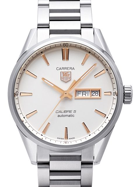 timeless design 85c85 93135 Tag Heuer Carrera Calibre 5 Day-Date Automatic 41mm