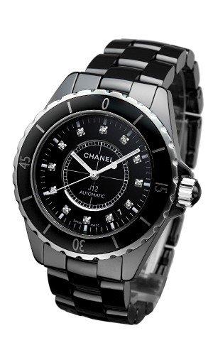 new style 52207 9717e Chanel J12 Black Ceramic